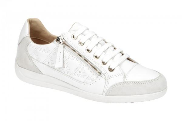 Geox Myria Schuhe Sneakers weiß D0268C