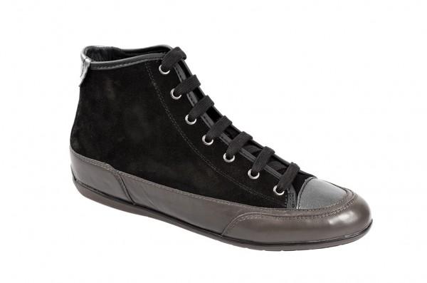 Geox New Moena Stiefelette schwarz grau D3460C