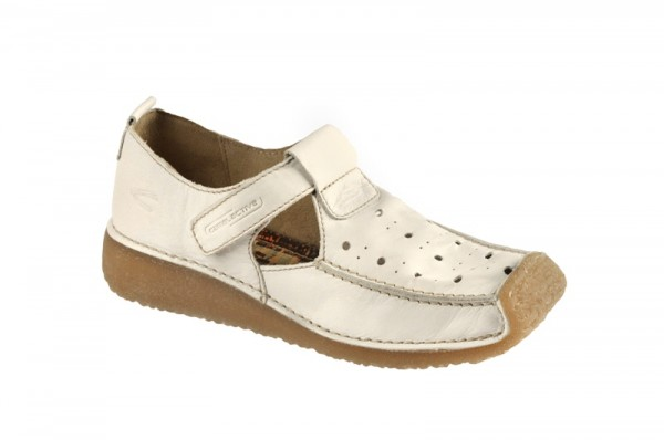 camel active Soho Schuhe Slipper in weiß