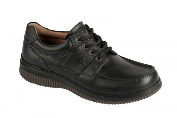 Ecco Walker 2.0 Lace Schuhe in schwarz Mokassin