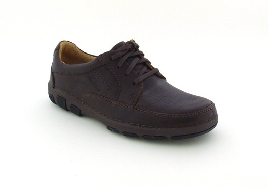 Clarks Refine Class Schuhe ebony dunkelbraun