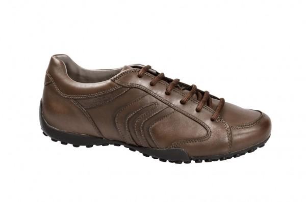 Geox Snake F Schuhe in hellbraun U3407F