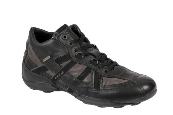 Geox New Early Schuhe schwarz grau