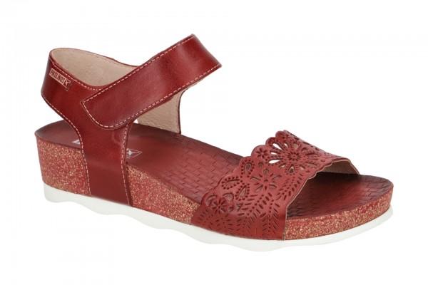 Pikolinos Mahon Damen Sandale rot W9E-0910
