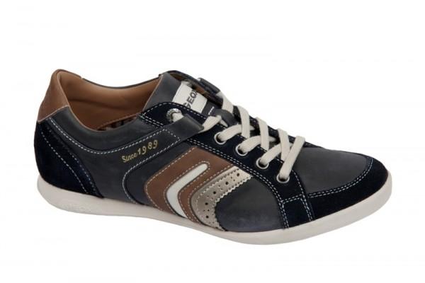Geox Respira Gate Schuhe navy blau Sneakers