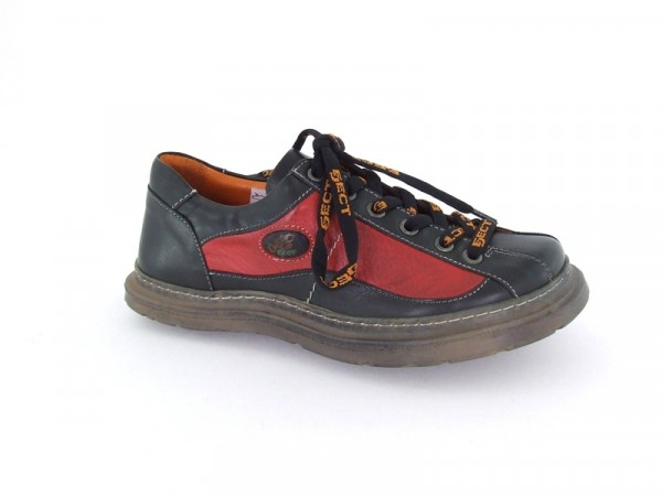 Eject Sony2 Schuhe in schwarz rot E-7575