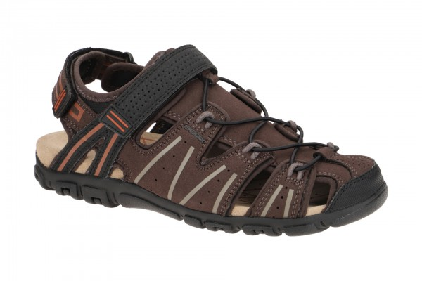 Geox Strada Outdoor Sandale braun U1524A