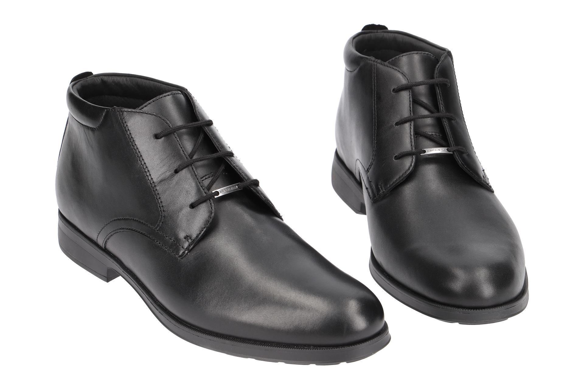 Geox Schuhe HILSTONE ABX schwarz Herrenstiefelette U845TB