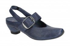 Think Aida Sling-Pumps Schuhe blau 6-86246-89