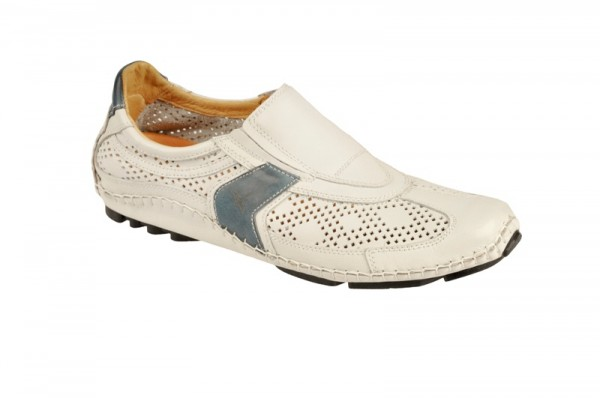 Pikolinos 087-5090 Slipper weiß blau