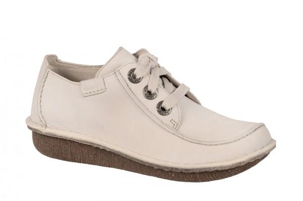 Clarks Funny Dream Schuhe bone weiß