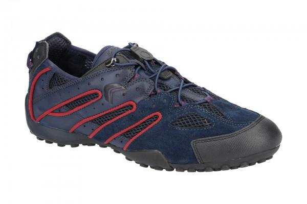 Geox Snake Schuhe blau rot U4207J 02214 C4E7W