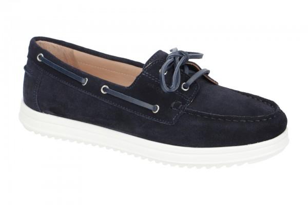 Geox Genova Schuhe Mokassin blau D02HCA