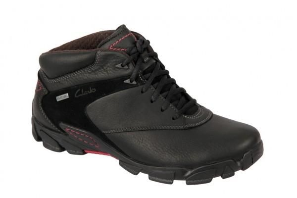 Clarks Raid Task GTX in schwarz Boots Warmfutter