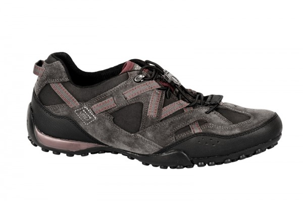 Geox Wide Snake T Schuhe schwarz dunkelrot U2406T