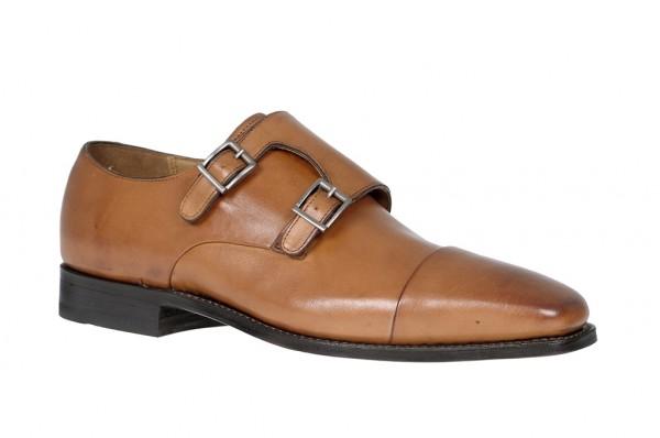 Gordon & Bros. 4376 tan braun rahmengenähte Schuhe