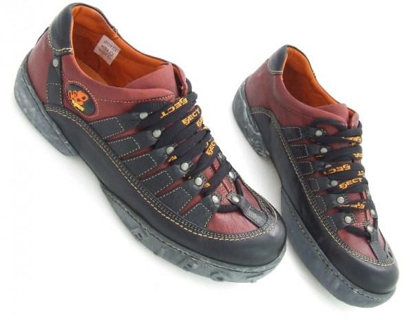 Eject Eden E-10732 Schuhe schwarz rot