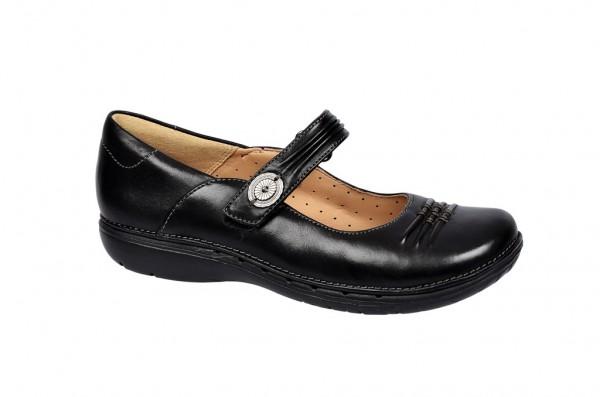 Clarks Un Linda Schuhe in schwarz Slipper 20353751