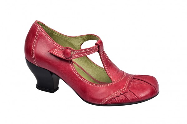 Tiggers Ginger 106 Riemchen Pumps in rot