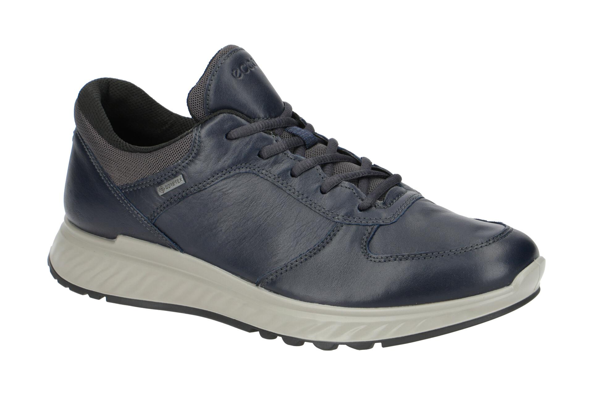 Ecco Exostride Schuhe blau Gore Tex 835304