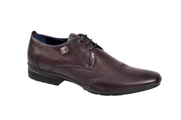 Bello Carezza Schuhe rot mogano - D184