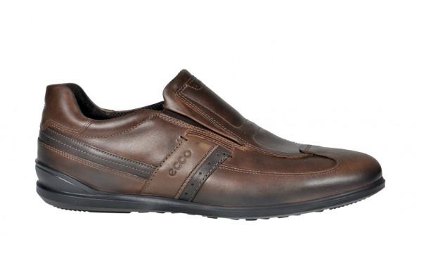 Ecco Chander sportliche Slipper für Herren in grau