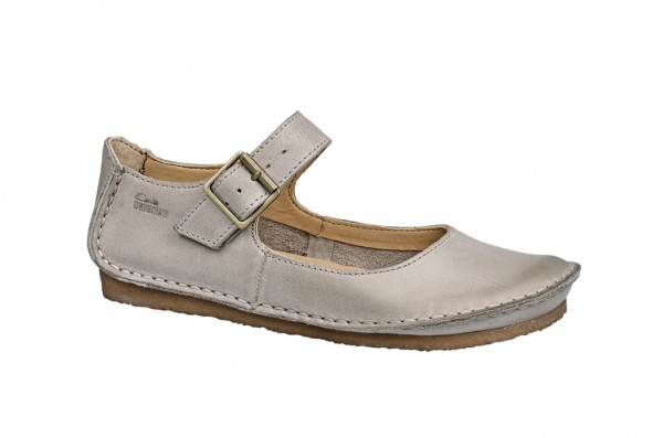 Clarks Faraway Fell Schuhe in sand grau Slipper 20352766