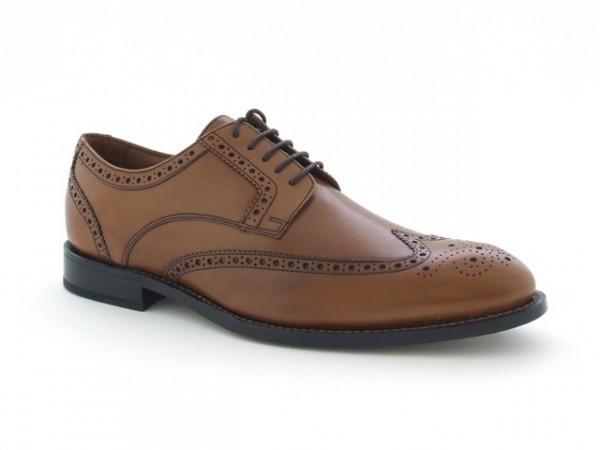 Clarks Dixon Class Schuhe in tan braun rahmengenäht