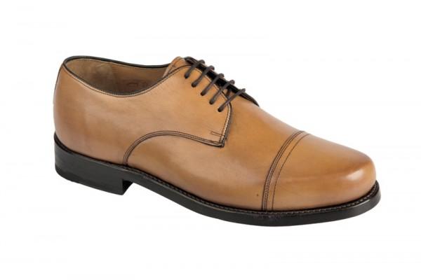 Gordon & Bros 3352 tan rahmengenähte Schuhe