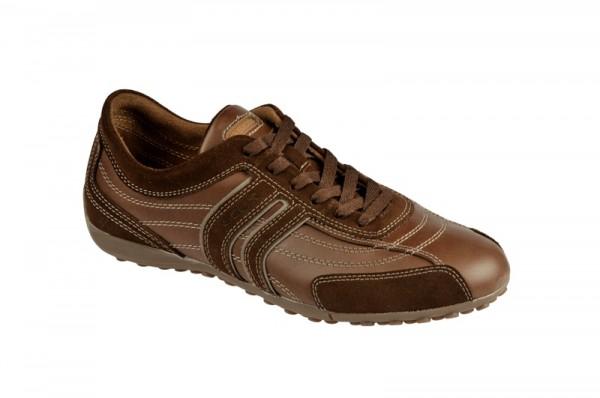 Geox Bis Schuhe braun coffee Sneaker