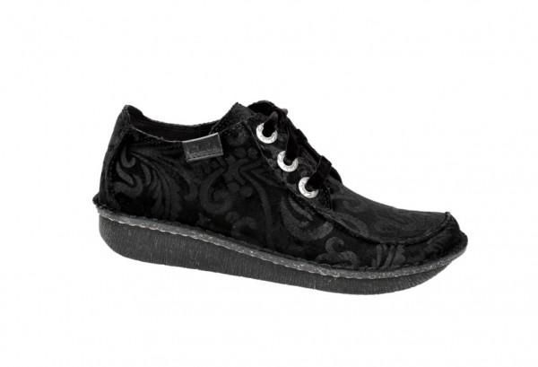 Clarks Funny Dream Schuhe in schwarz Velour 20355618