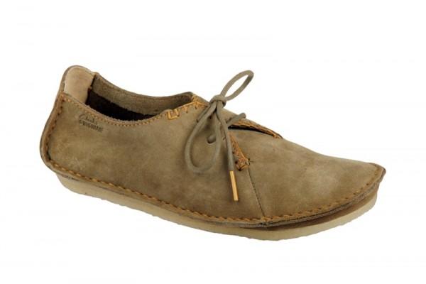 Clarks Faraway Field Schuhe in oakwood braun