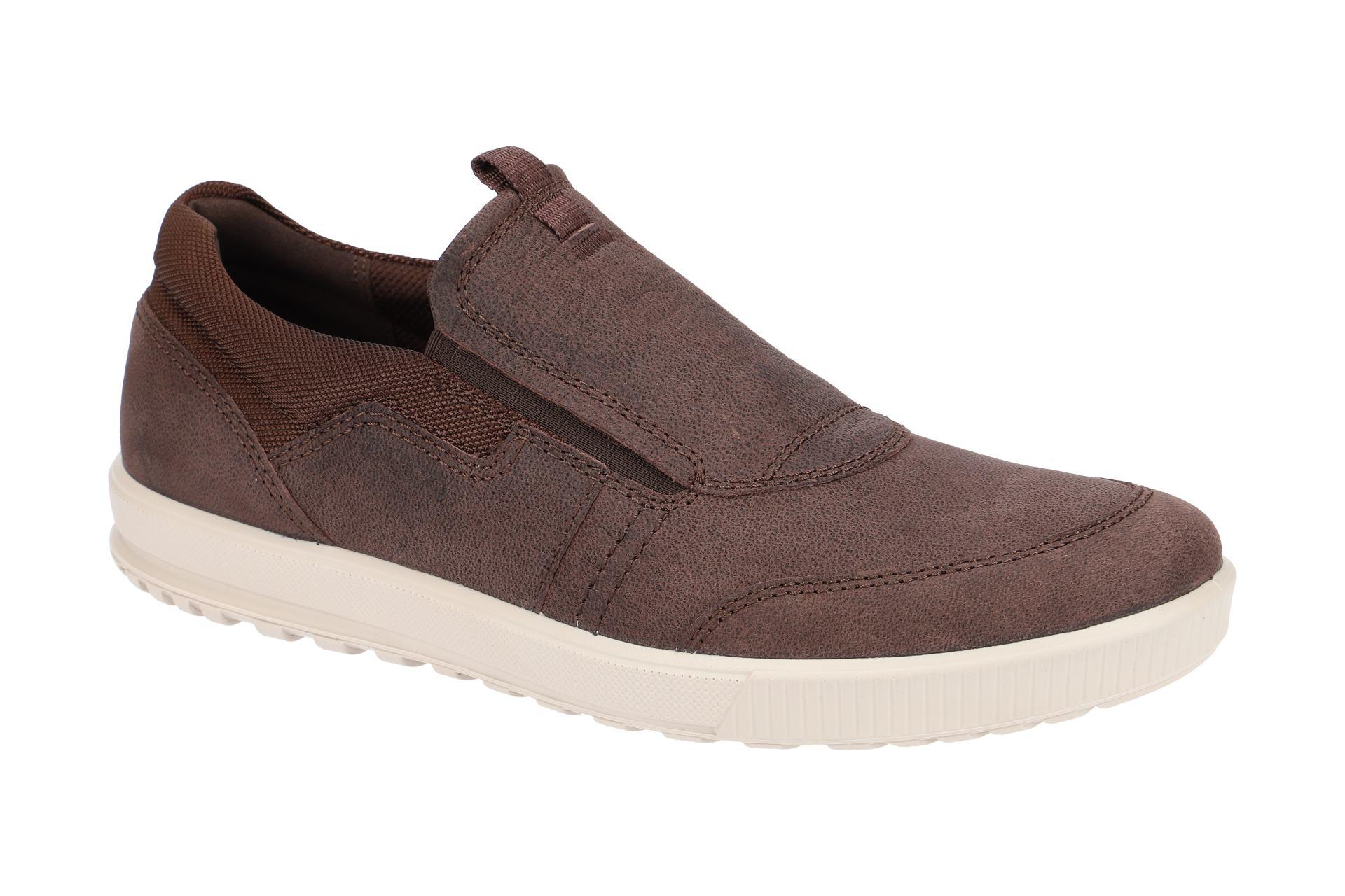 Ecco Schuhe ENNIO braun Herrenschuhe Slipper 53432402072 NEU