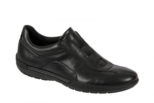 Ecco Welt Sneaker Schuhe schwarz Slipper