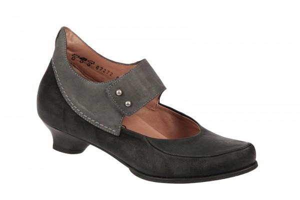 Think Schee Schuhe schwarz grau