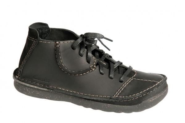 Clarks Mantal Peak Schuhe schwarz