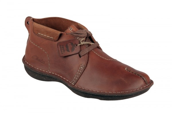 Clarks Mount Liberty Schuhe braun Herren Boots