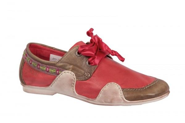 Eject Sayaka Schuhe im rot braun mix E-14409