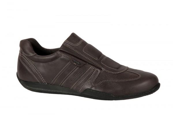 Ecco Summer Sneaker Schuhe in dunkelbraun Slipper