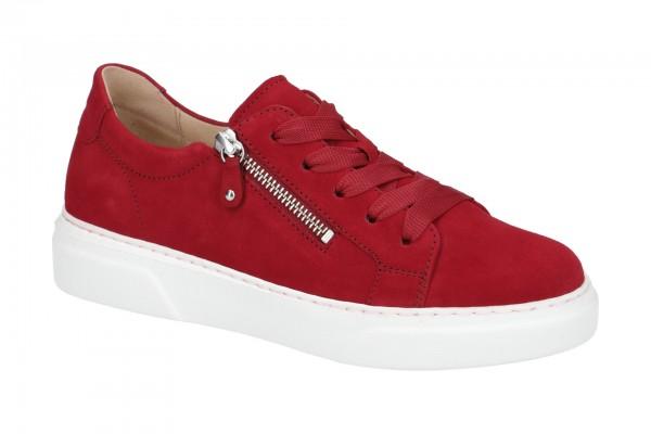 Gabor Schuhe rot rubin Damen Sneakers 314