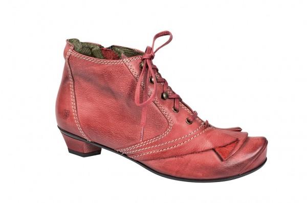 Tiggers Sara Stiefeletten in rot mit Lederfutter