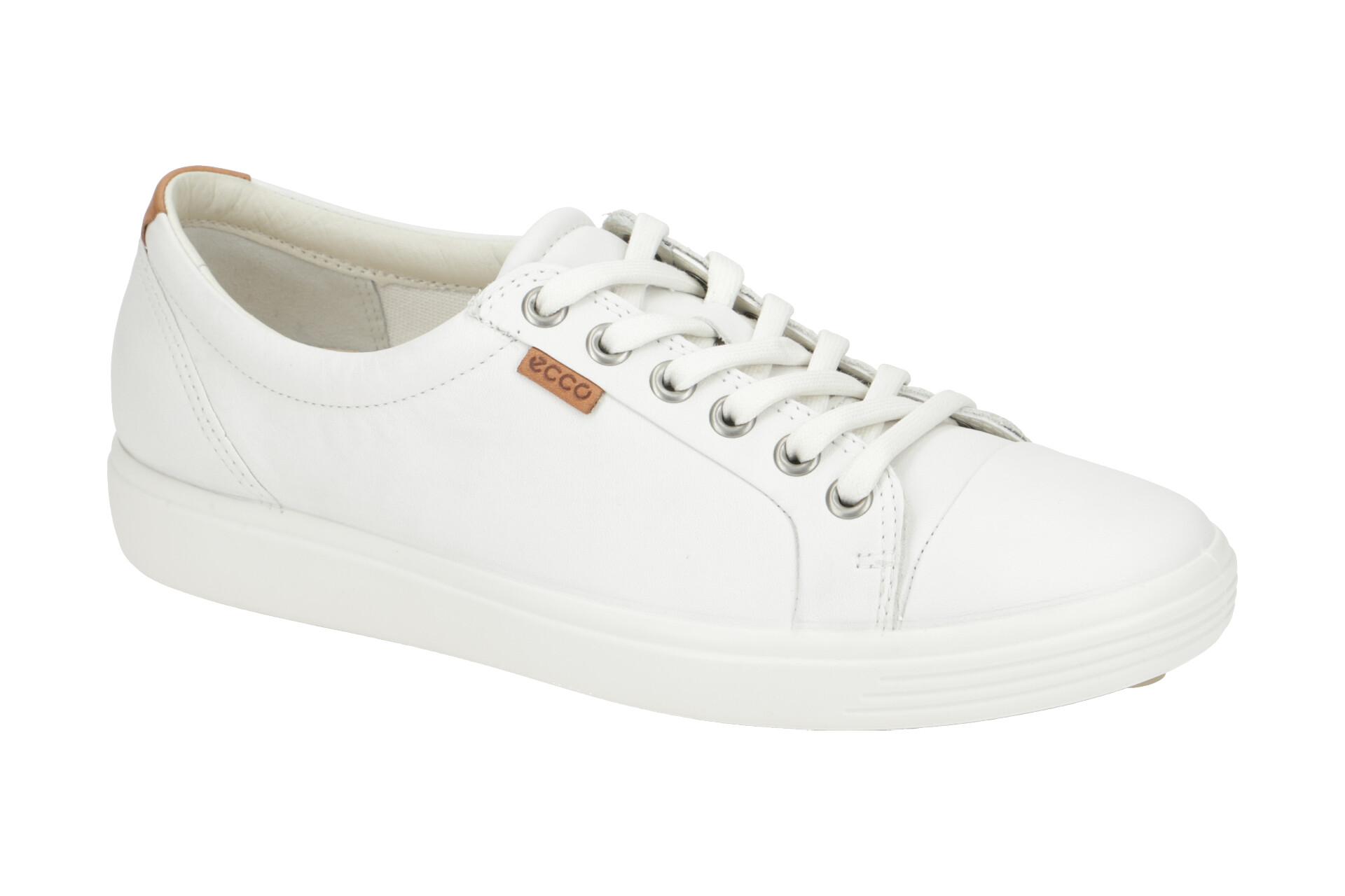 Ecco Schuhe SOFT 7 LADIES weiß Damenschuhe 43000301007 NEU