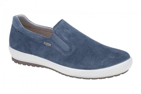 Legero Tanaro Schuhe Slipper blau Gore-Tex 814