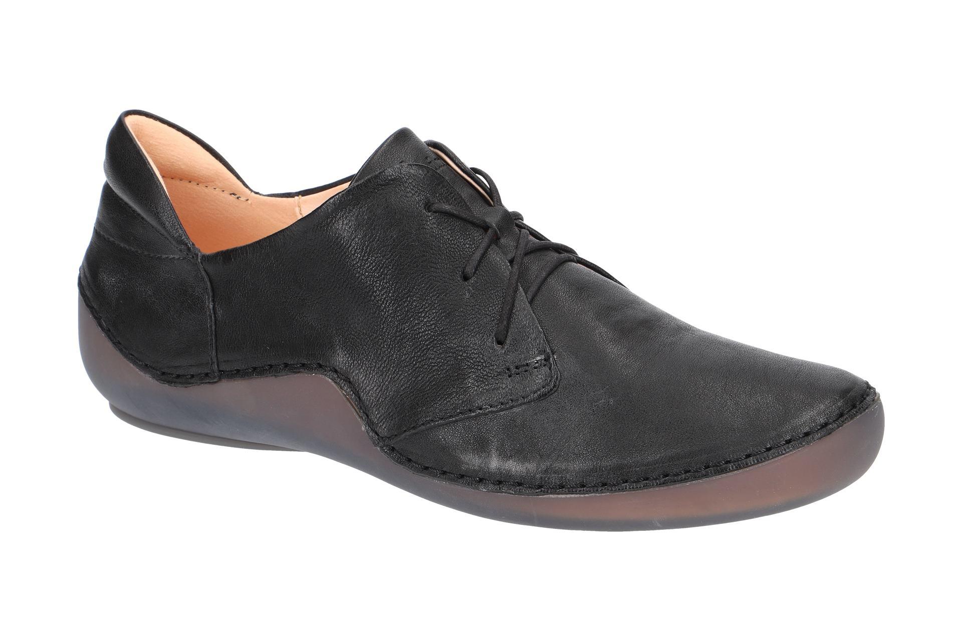 Think Kapsl Schuhe schwarz Damen Schnürer