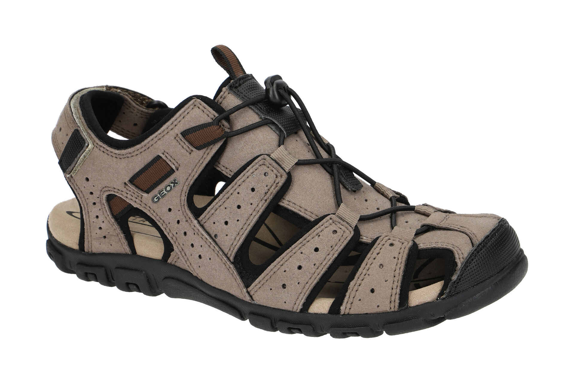 Geox Strada Outdoor Sandale grau U6224B