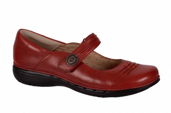 Clarks Un Linda Schuhe rot Slipper 20353743