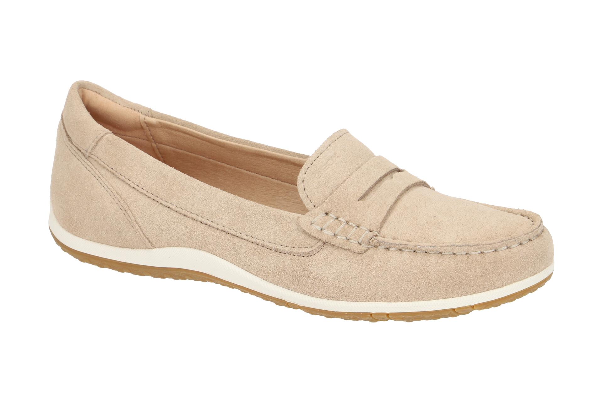 Geox Vega Damen Mokassin Schuhe pink D92dna Geox in 2020