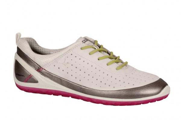 Ecco Biom Lite 1.1 Schuhe in weiß silber Yak 80201301007