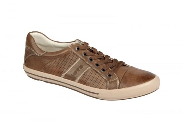 Lloyd Elkan Schuhe caramel braun Sneaker 11-404-01