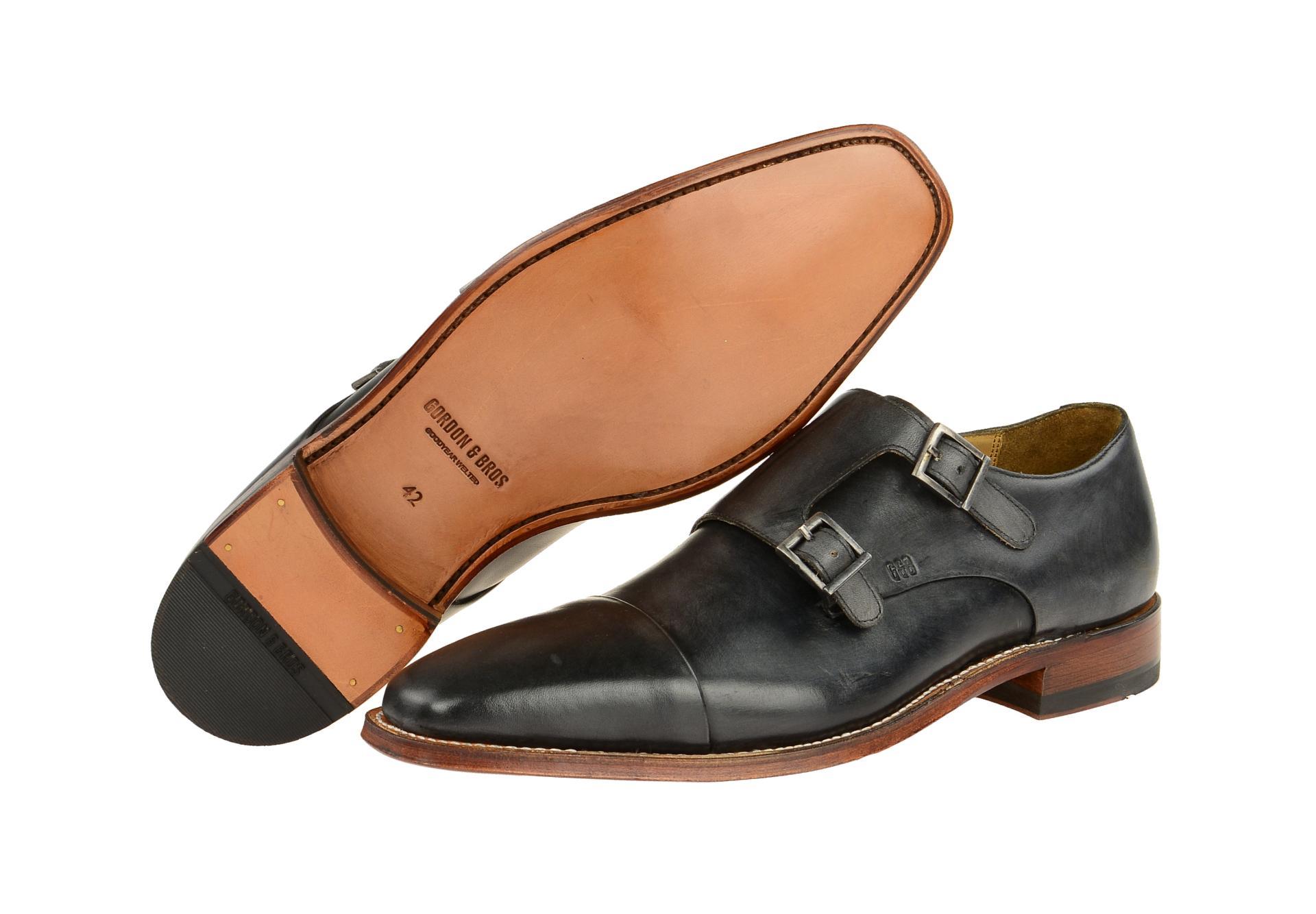 Gordon & Bros. Schuhe LUCQUIN grau Herrenschuhe 4924 N dark